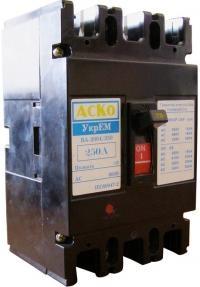 Автоматический выключатель УКРЕМ ВА-2004/250 3р 250А АсКо